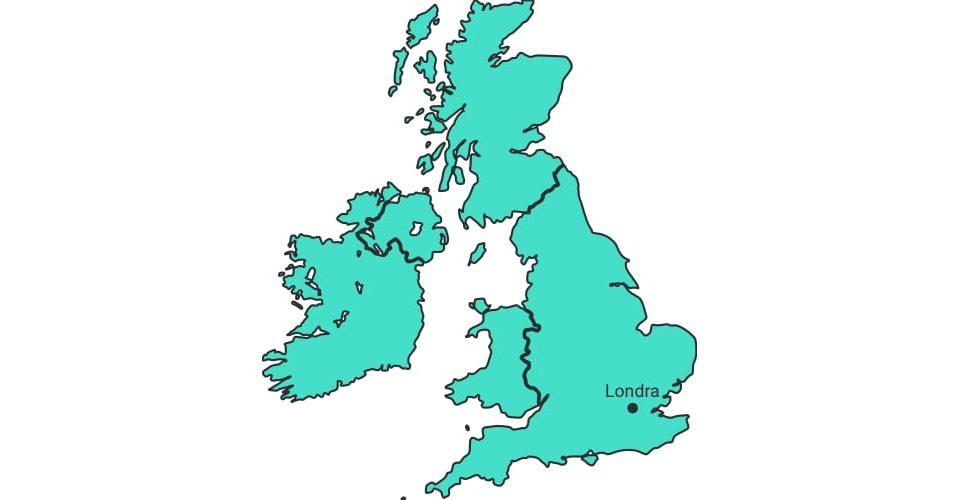 Spedire in UK